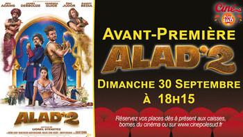 Alad'2 Dimanche 30 Septembre à 18h15