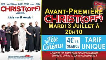 Christ(off) Mardi 3 Juillet à 20h10