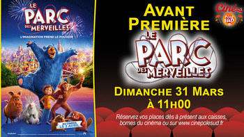 Le Parc des merveilles Dimanche 31 Mars à 11h00