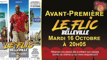 Le Flic de Belleville Mardi 16 Octobre à 20h05