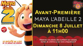 Maya l'abeille 2 - Les jeux du miel Dimanche 8 Juillet à 11h00