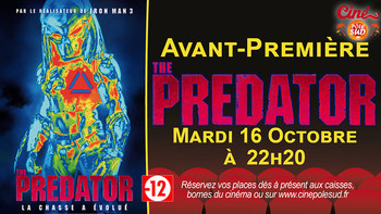 The Predator Mardi 16 Octobre à 22h20