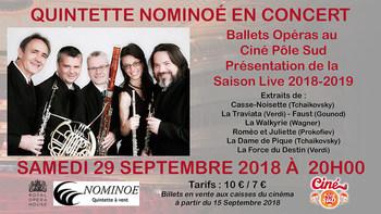Le Quintette Nominoé en concert