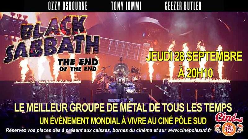 Avis Aux Fans De Black Sabbath Et Du HellFest