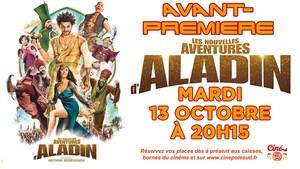 Avant-Premi�re LES NOUVELLES AVENTURES D'ALADIN Mardi 13 Octobre � 20h15