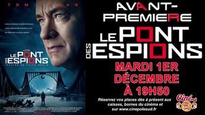 Avant-Premi�re LE PONT DES ESPIONS Mardi 1er D�cembre � 19h50