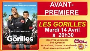 Avant-premi�re de LES GORILLES Mardi 14 Avril � 20h30