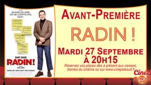 Radin ! Mardi 27 Septembre � 20h15
