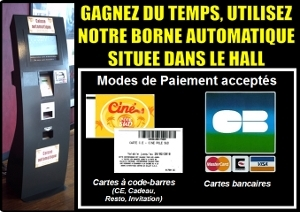 Borne automatique