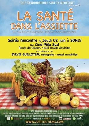 """Soir�e D�bat """"La sant� dans l'assiette"""" Jeudi 2 Juin � 20h15"""