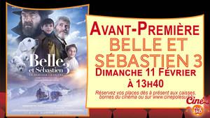 Belle & Sébastien 3 Dimanche 11 Février à 13h40