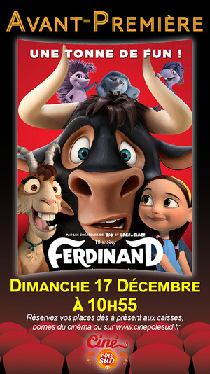 Avant-première Ferdinand Dimanche 17 Décembre à 10h55