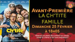Acant-Première La Ch'tite famille Dimanche 25 Février à 18h05