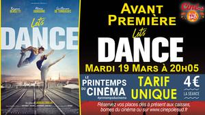 Avant-Première Let's Dance Mardi 19 Mars à 20h05