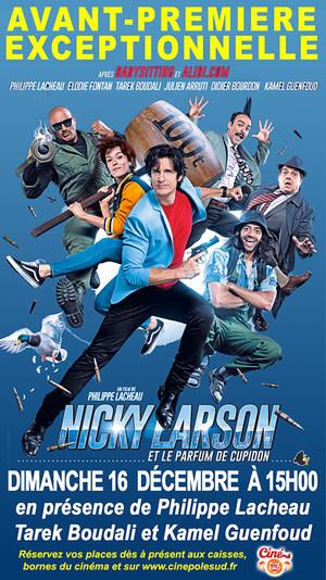 """Avant-Première exceptionnelle de """"Nicky Larson et le parfum de Cupidon"""" Dimanche 16 Décembre à 15h00 en présence de l'équipe du film"""