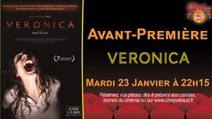 Avant-Première Verónica Mardi 23 Janvier à 22h15