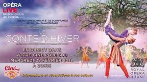 Ballet en direct du Royal Opera House au Ciné Pôle Sud Mercredi 28 Février 2018 à 20h15