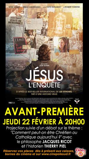 Avant-Première Jésus, L'Enquête Jeudi 22 Février à 20h00