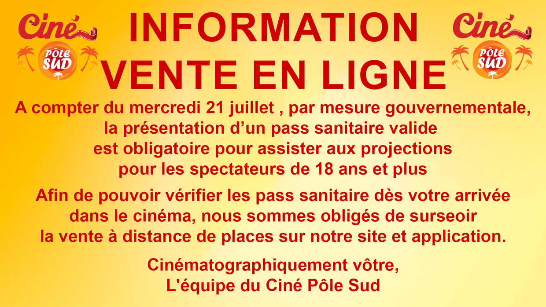 Information Vente en ligne
