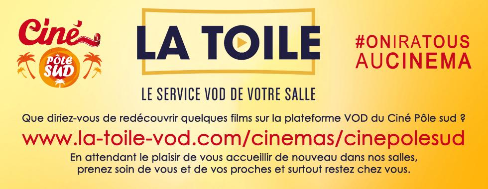 La plateforme VOD du Ciné Pôle sud