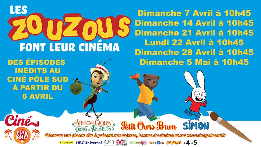 Photo du film Les Zouzous font leur cinéma #2 (CGR Events)