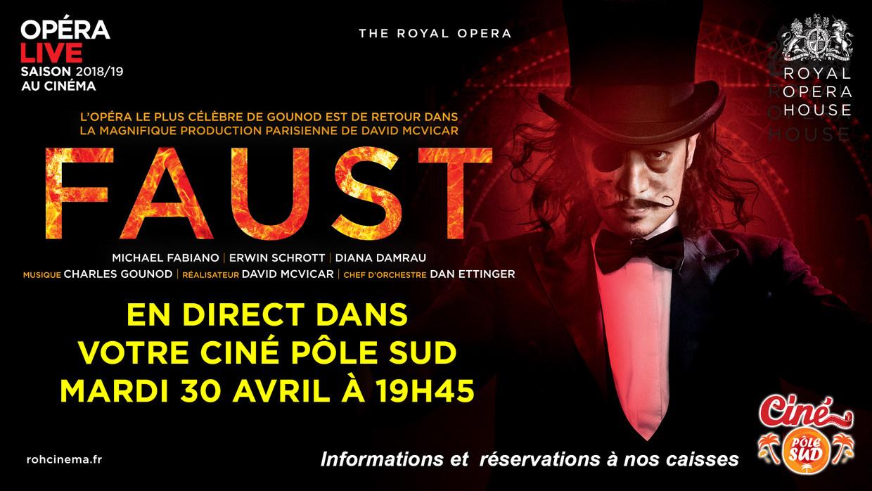 Photo du film Faust (Royal Opera House)
